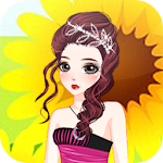 Shopaholic Girls Dress Up Icon