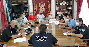 Junta Local de Seguridad en Vera.