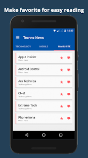 Technology News Mobile App- screenshot thumbnail