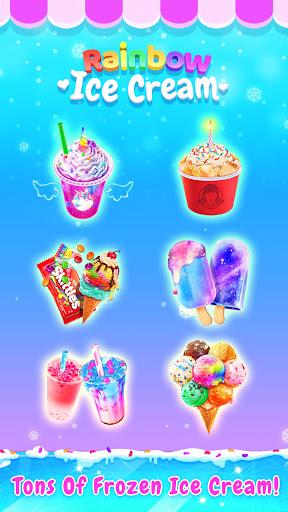 Rainbow Ice Cream - Unicorn Party Food Maker 1.5 screenshots 9