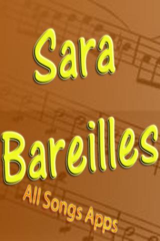 All Songs of Sara Bareilles