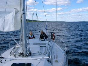 Photo: Johdannolla purjehdukseen.