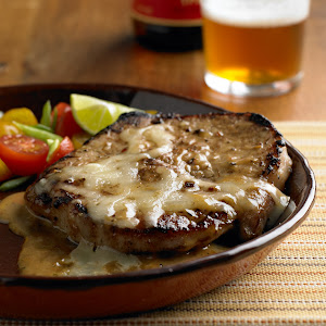Fast and Easy Garlic and Lime Butterfly Pork Chops