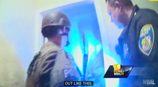 Video: Baltimore SWAT 'Kill that guy'