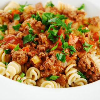 Light Beef Bolognese.