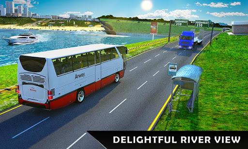 River Bus Driver Tourist Coach Bus Simulator  screenshots 5