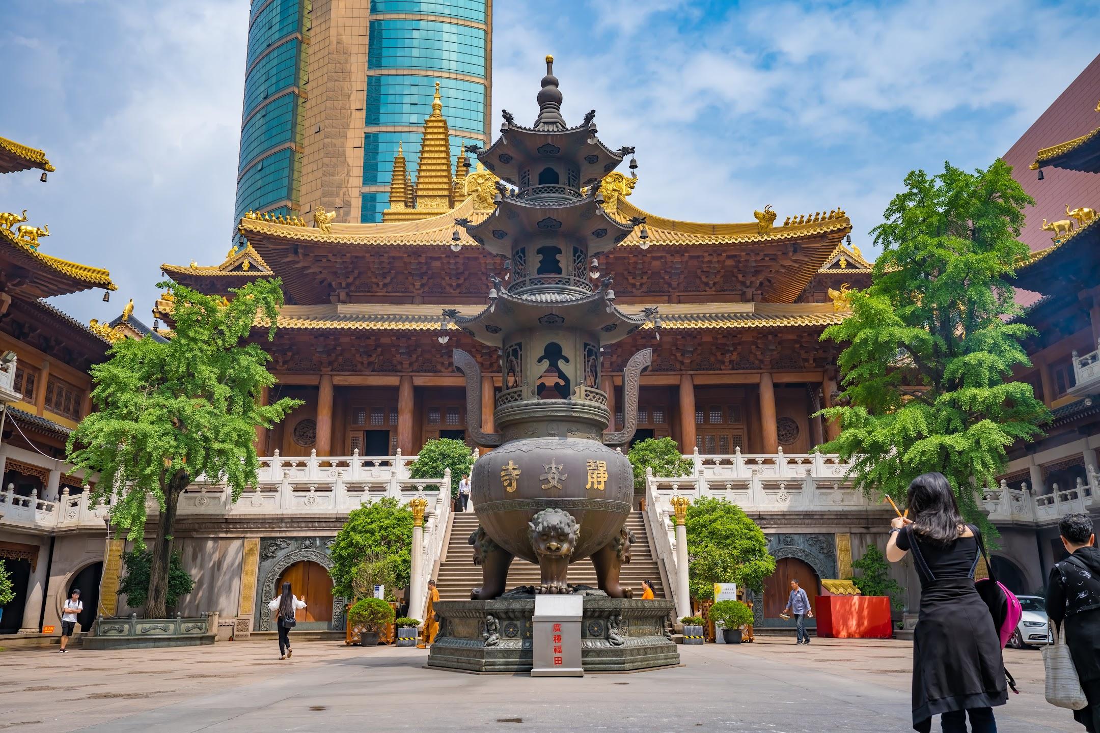 Shanghai Jing'an Temple3
