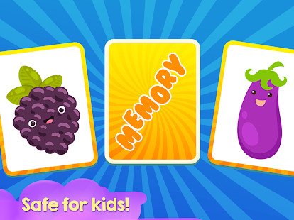 Memory Game for kids - Fruits - náhled