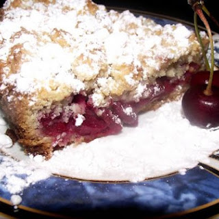 Easy Shredded Pie With Cherries (or Jam, Or Berries, Anything)