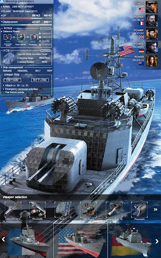 Battle Warship:Naval Empire 1.3.4.7 screenshots 19