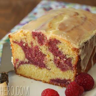 Passion Fruit-Raspberry Pound Cake Recipe