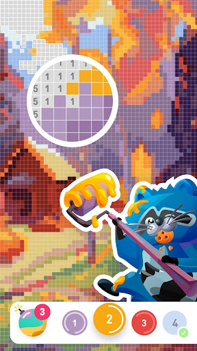 Paint the world - color by number colouring game apkdebit screenshots 1