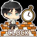 Attack on titan-Clock Free Icon