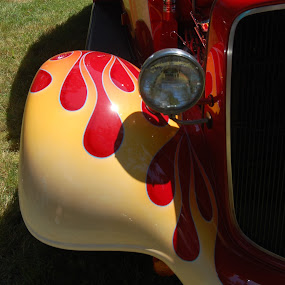 Too Hot for Asphalt by Ella Quincy - Transportation Automobiles