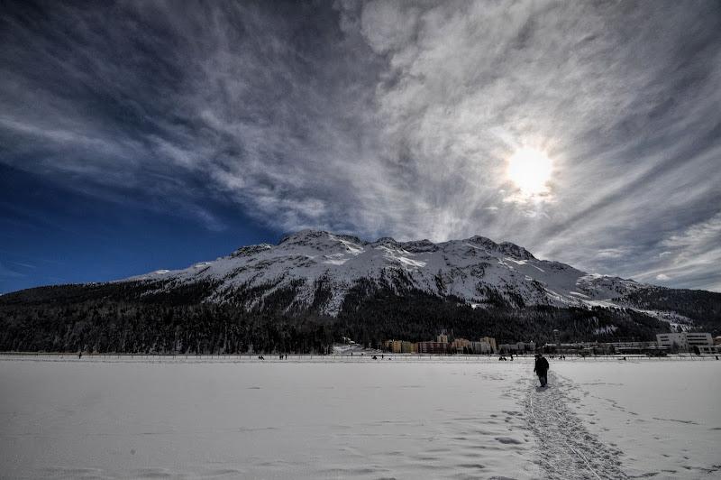 a passeggio sul lago ghiacciato di dady2
