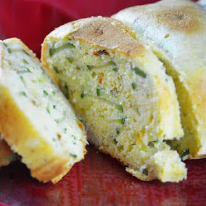 Polenta, Zucchini, and Almond Cake