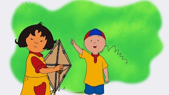 Sarah's Kite/Caillou's New Game/Shiny Reminder
