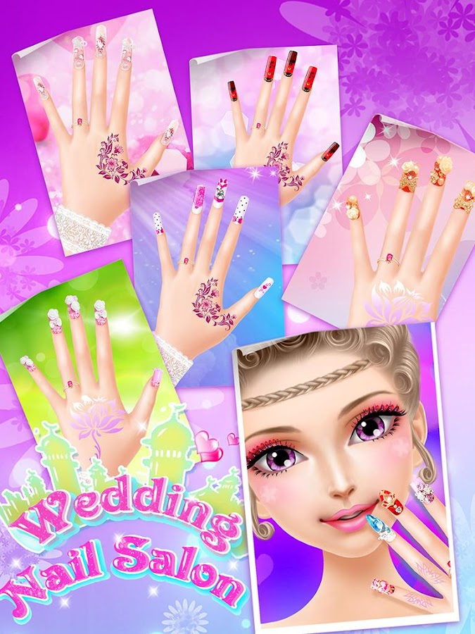 Wedding nail salon girl game android apps on google play wedding nail salon girl game screenshot prinsesfo Gallery