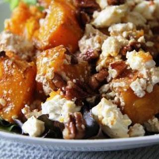 Pumpkin, Pecan and Feta Salad.