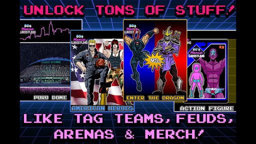 80s Mania Wrestling Returns apkpoly screenshots 9