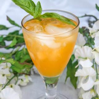 Italian Soda Orange Cream Cocktail.