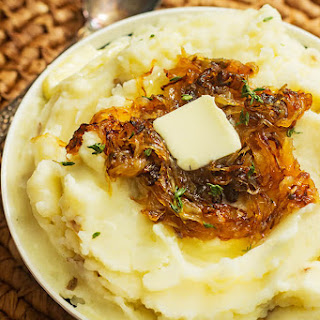 Extra Creamy Butter Mashed Potatoes.