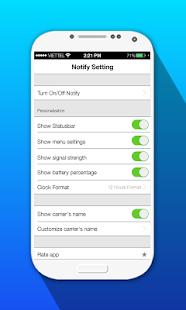 iNoty OS 10 - iNotify OS10 screenshot