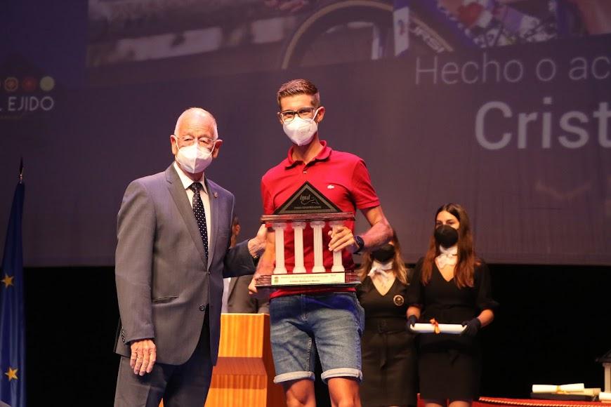 El ciclista Cristian Rodríguez se llevó el Premio al Hecho o Acontecimiento Destacado.