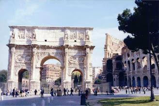 Photo: #018-L'arc de Constantin.