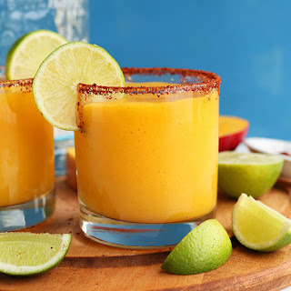 Chili Lime Mango Margaritas