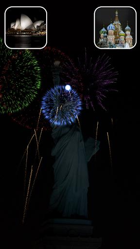 新年の花火の祭典