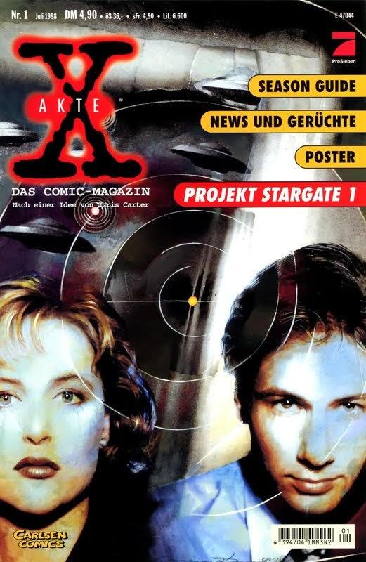 Akte X - Das Comic Magazin (1998) - komplett