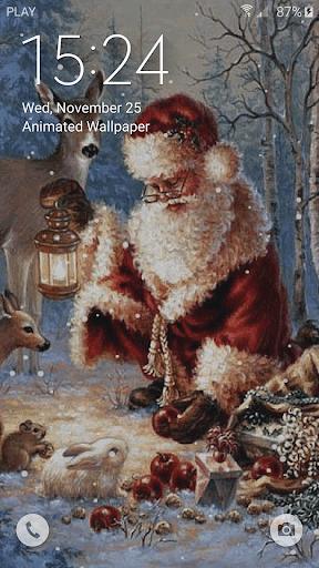 Christmas Live Wallpaper  screenshots 3