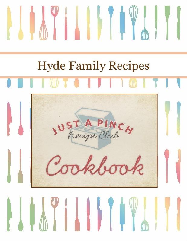 Hyde Family Recipes