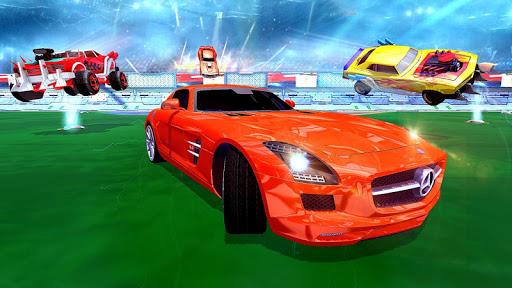 Rocket Car Football Soccer League Champion screenshot 3