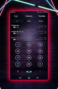 Neon EMUI 5 Theme - náhled
