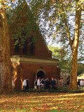 Photo: Main entrance to the Kearsney Chapel