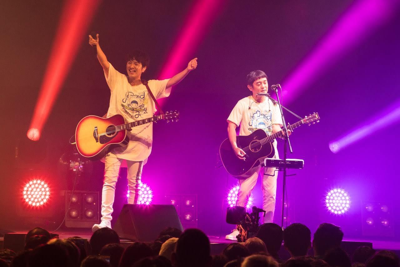 [迷迷歌單] 柚子 ゆず 亞洲演唱會 2019柚彈柚唱~拍手喝祭~台北公演