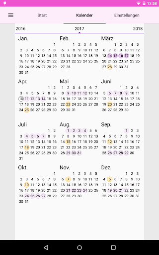periodenkalender