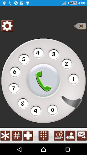 Old Phone Dialer: 3D Contacts