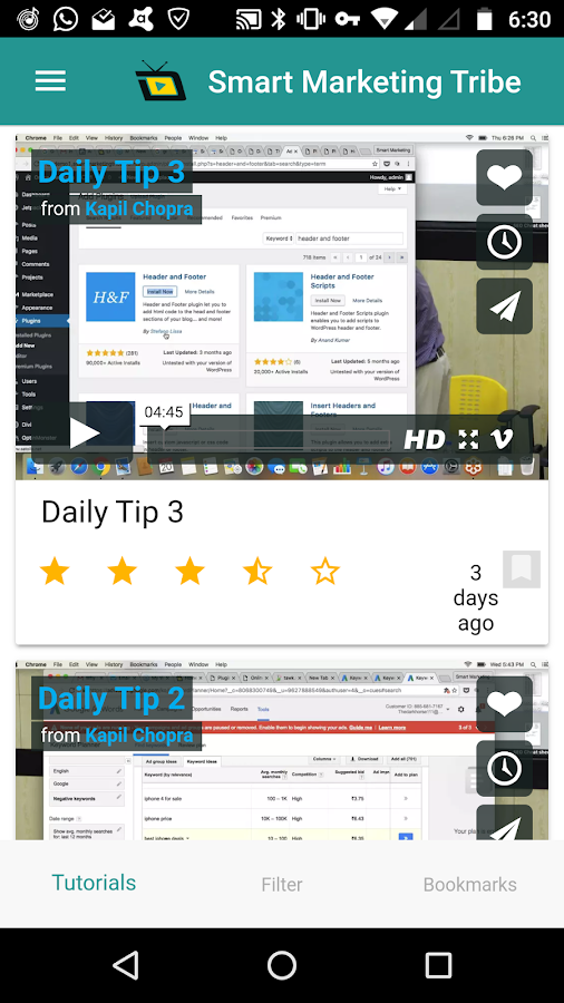 Daily Tips Digital Marketing- screenshot