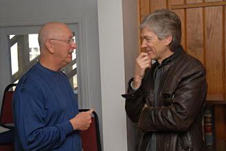 Photo: A pleasure of Voices is connection through conversation.