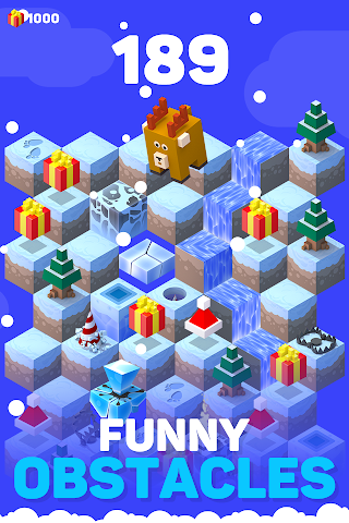 android Ice Hill: Endless Xmas Fun Screenshot 7