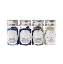 Tonic Studios Nuvo Pure Sheen Confetti 4/Pkg - Let It Snow 288N
