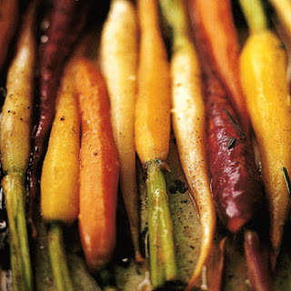 Braised Carrots with Orange and Rosemary.