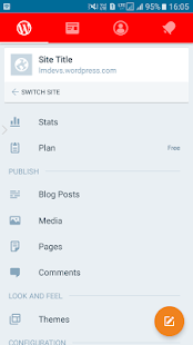 Wordpress Blog Manager- screenshot thumbnail
