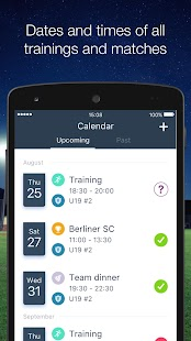 HelloCoach. Team Management- screenshot thumbnail
