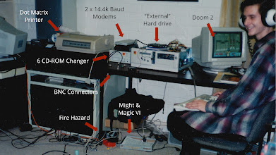 Photo: I'm an engineer -- so even as a BBS operator in the mid-90's, playing Doom ][ on my LAN, I didn't believe in magic.