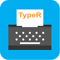 TypeR - Get Better At Typing icon