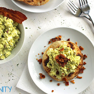 Avocado Egg Salad with Bacon Crumbles